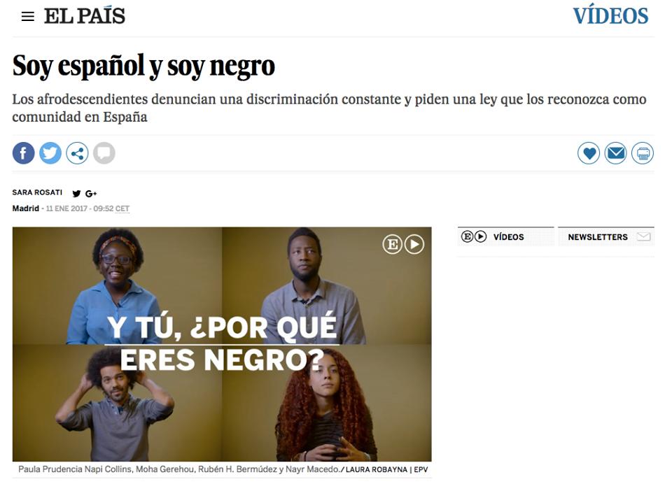 soy espanol y soy negro